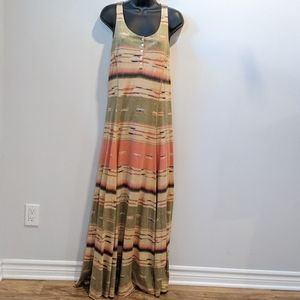 Lauren Ralph Lauren sleeveless maxi dress small